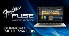 Fender® FUSE™ Support