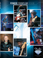 2006 Fender Frontline Catalog
