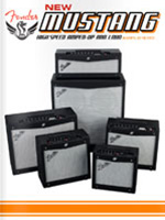 2011 Fender Mustang&trade; Amps Brochure