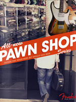 2011 Fender Pawn Shop Series Brochure