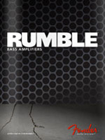 2011 Fender Rumble&trade; Bass Amps Brochure