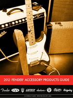 2012 Fender® Accessories Price List