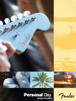 2012 Fender&reg; Acoustics Brochure