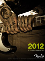 2012 Fender® Illustrated Price List