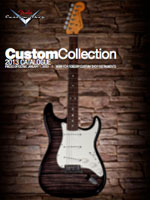 2013 Fender® Custom Shop Custom Collection Catalogue