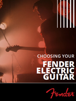 Choosing Your Fender Electric Guitar
