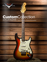 2014 Fender® Custom Shop Illustrated Pricelist
