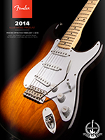 2014 Fender® Illustrated Pricelist